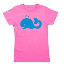 Unique Whale Girl's Tee