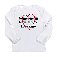 New_Jersey Long Sleeve T-Shirt