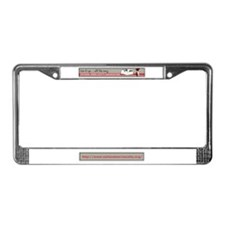 Cute Vintage trailer License Plate Frame