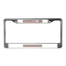 Unique Vintage trailer License Plate Frame