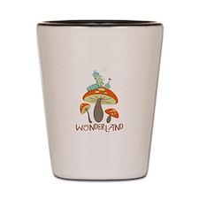 Wonderland Shot Glass