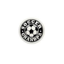 Soccer Grandpa Mini Button