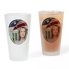 Hillary Clinton 2016 Drinking Glass