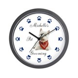 Dog Wall Clocks