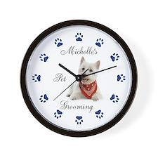 Pet Groomer Clock 111 Wall Clock