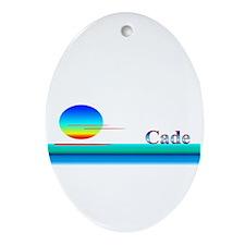 Cade Oval Ornament