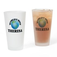 World's Best Theresa Drinking Glass