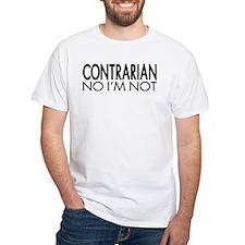 Contrarian No I'm Not T-Shirt