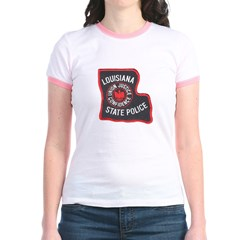 Louisiana State Police Jr. Ringer T-Shirt