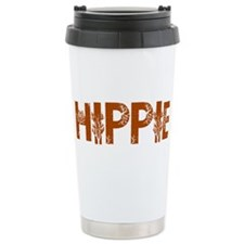 Cute Hippie Thermos Mug