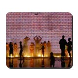 Kids in Fountain Mousepad