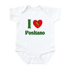 I Love Positano Infant Bodysuit