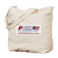 Tote Bag - Push Cheney Out/John Kerry for Presiden