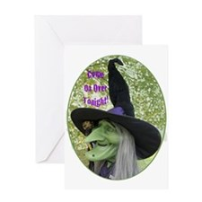 Ugly Witch Greeting Cards