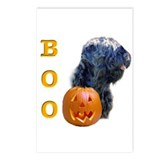 Black Russian Boo Postcards (Package of 8)