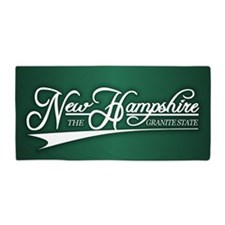 New Hampshire State of Mine Beach Towel