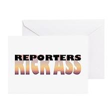 Reporters Kick Ass Greeting Cards (Pk of 10)