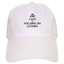 Keep Calm by focusing on Lockers Baseball Cap