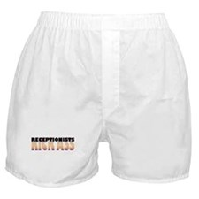 Receptionists Kick Ass Boxer Shorts