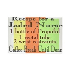 Funny Registered nursing Rectangle Magnet (10 pack)