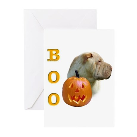 Shar Pei Boo Greeting Cards (Pk of 10)
