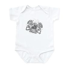 Gemini Twins Zodiac Infant Bodysuit