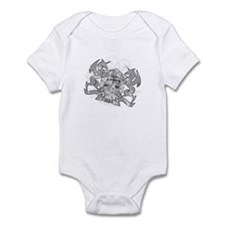Libra Scales Zodiac Infant Bodysuit