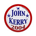 John Kerry 2004 Christmas Tree Ornament