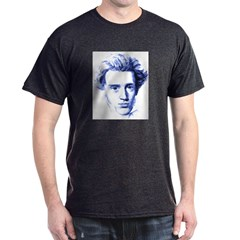 Blue Kierkegaard Dark T-Shirt