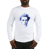 Blue Kierkegaard Long Sleeve T-Shirt