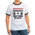 """\m/"" Ladies' Ringer T-shirt"