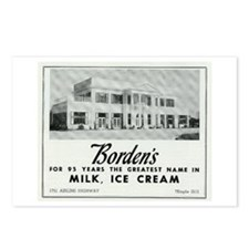 Borden's Dairy Postcards (8)