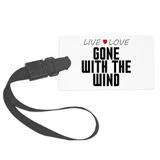 Live Love Gone With the Wind Luggage Tag