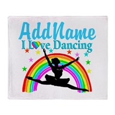 DANCERS DREAMS Throw Blanket