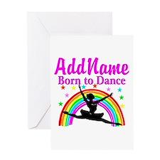BORN DANCING Greeting Card