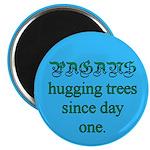 Pagan Tree Hugging Magnet