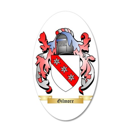 Gilmore 35x21 Oval Wall Decal