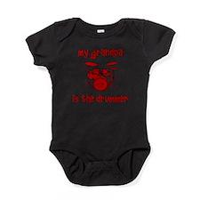 Cute Drummer Baby Bodysuit