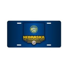 Nebraska (v15) Aluminum License Plate
