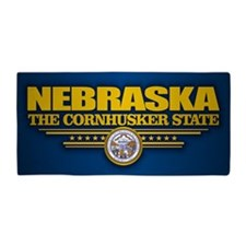Nebraska (v15) Beach Towel