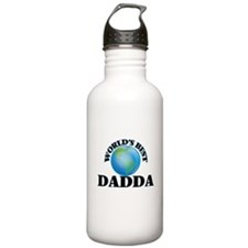 World's Best Dadda Sports Water Bottle