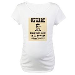 John Wesley Hardin Maternity T-Shirt
