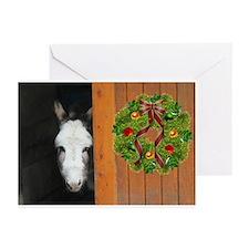 Sicilian Donkey Greeting Cards