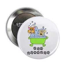 "Pet Groomer 2.25"" Button (100 pack)"
