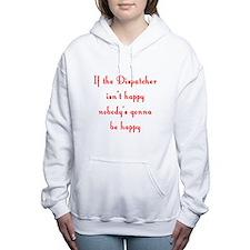 Cute Dispatchers Women's Hooded Sweatshirt
