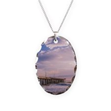Blue Skies in Morning Necklace
