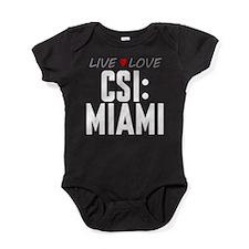 Live Love CSI: Miami Baby Bodysuit