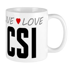 Live Love CSI Mug