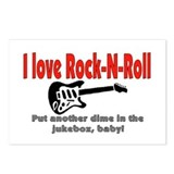 I LOVE ROCK N' ROLL Postcards (Package of 8)