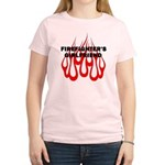 Firefighter's Girlfriend Women's Light T-Shirt